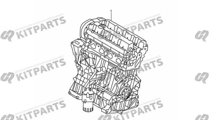Двигатель в сборе Dong Feng AX7