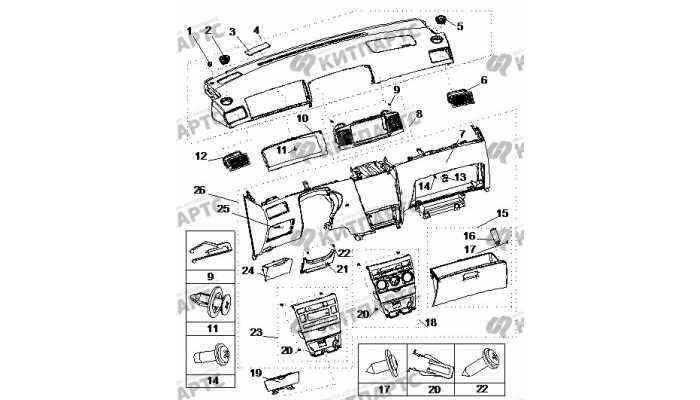 Приборная панель. Часть 2. BYD F3 (F3R)