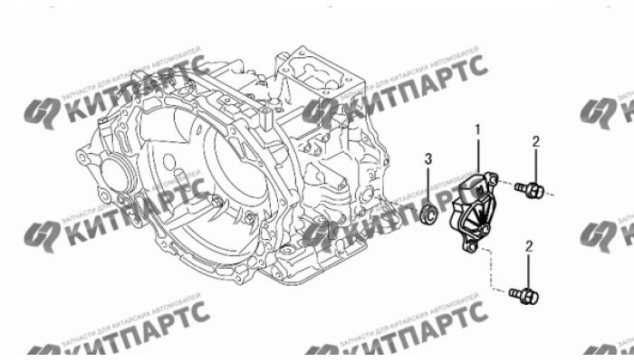 Электронные компоненты АКПП Dong Feng S30