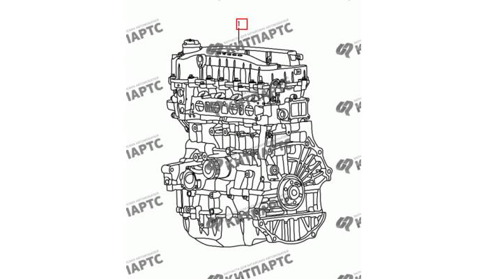 Двигатель в сборе S30 (E-Teco) Dong Feng S30