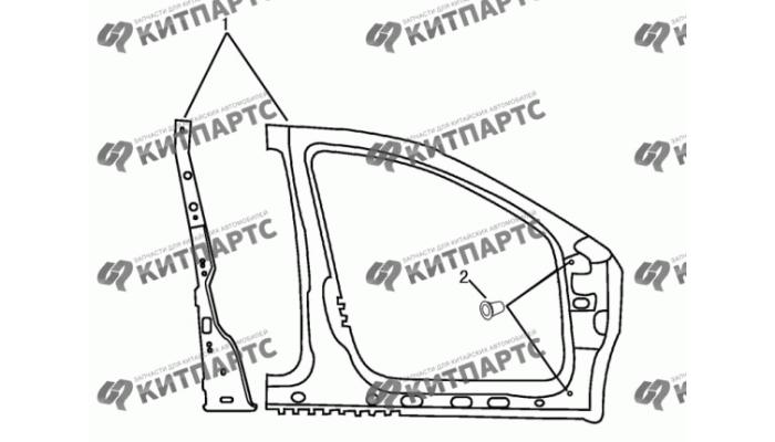 Стойки панели кузова средние Dong Feng H30 Cross