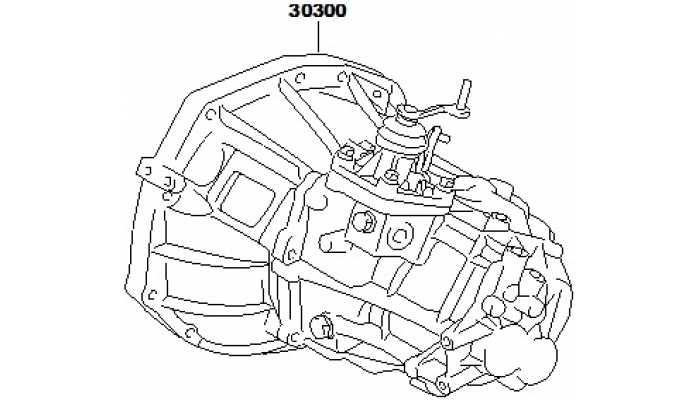 Коробка передач в сборе FAW V5