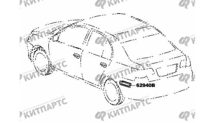 Вентиляция кузова (седан) FAW Vita