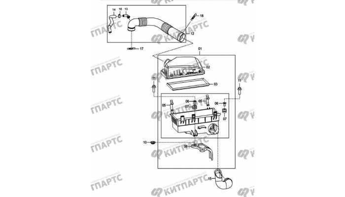 Фильтр воздушный FAW Oley