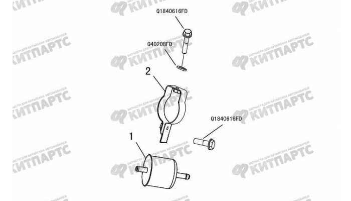 Фильтр топливный Great Wall Hover H3 New