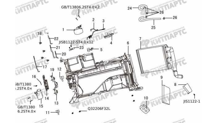 Система отопления Great Wall Hover H3