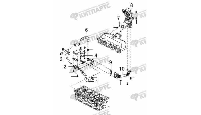 Охладитель и клапан EGR Great Wall Hover H5