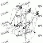 Ремни безопасности задние (седан)
