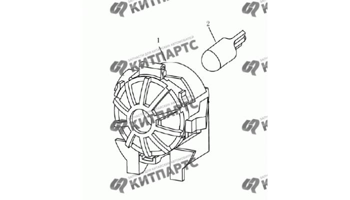 Лампа багажника (седан) Geely Emgrand (EC7)