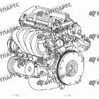 Двигатель в сборе 4G18 (1,8 L)