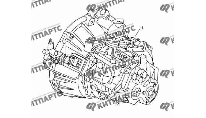 Коробка передач S170B в сборе Geely Emgrand (EC7)