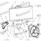 Радиатор охлаждения (МКПП / радиатор сзади)