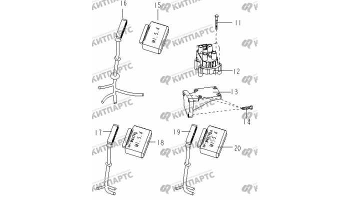 Блок управления двигателем и катушка зажигания Geely Otaka (CK)