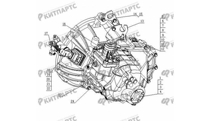 S160 Коробка передач в сборе Geely Otaka (CK)
