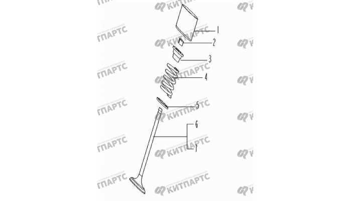 Клапаны Geely Vision (FC)