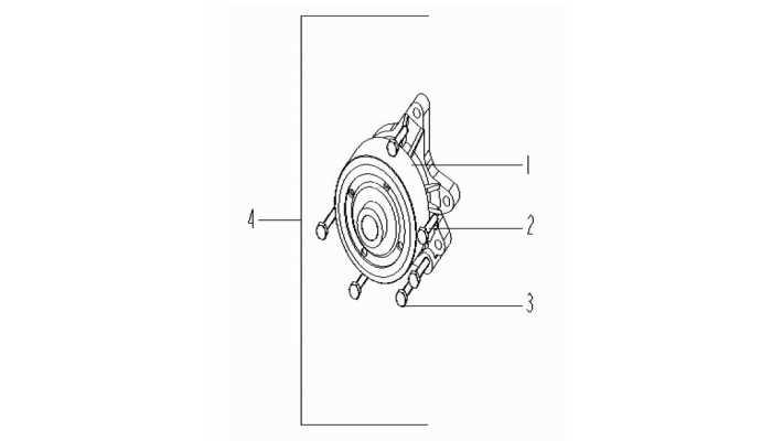 Насос водяной Geely Vision (FC)